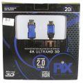 CABO HDMI 20M 2.0 4K ULTRAHD SCE18-2020